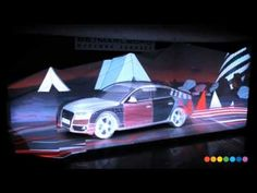 Here is an example of the #ProjectionMapping #3dVideoMapping we supply. For more information visit us at www.arcstreamav.com