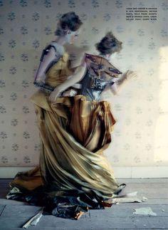 Mechanical Dolls [Vogue Italia, October 2011, Audrey Marnay and Kirsi Pyrhonen]