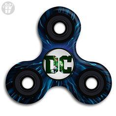 Finger King DC Logo Green Lantern 360 Spinner High Speed Fidget Spinner Tri-Spinner Fidget Hand Spinner Fidget Stress Reducer Toy For Adult And Kid - Fidget spinner (*Amazon Partner-Link)