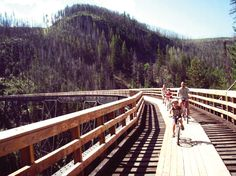 Canada's six best bike trails worth travelling for. #travel #biketrails #parks