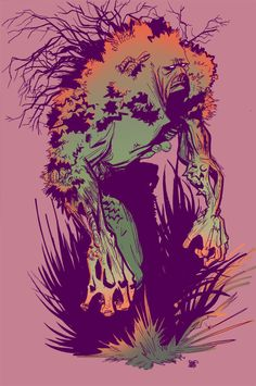 swamp thing by Robbi462.deviantart.com
