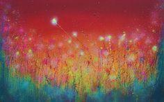 "Saatchi Art Artist Dan Pearce; Painting, ""Summer Sky"" #art"
