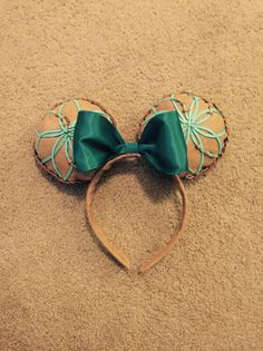 Pocahontas Inspired Minnie Mouse Ears by MythicalHandmades on Etsy