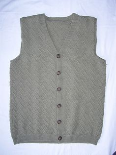 Ravelry: Parquet Waistcoat pattern by Andrea Krüß-Anders Knitting Patterns Free, Free Knitting, Free Pattern, Knit Vest, Finger Weights, Ravelry, Knit Crochet, Men Sweater, Vests