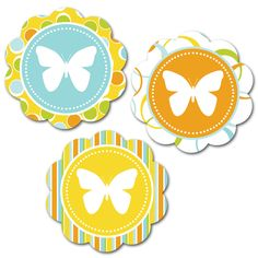 A Scoop of Cocoa: Free Butterfly Printables