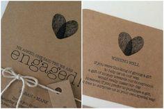 Origami und Recycling-Papier als Hochzeitsdetail [Fotos]