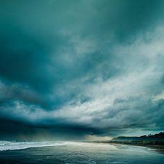 sky, clouds, deep, sea