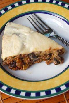 Gluten Free Greek Recipes: Vegetarian Tempeh Moussaka Recipe with Vegan option | Book of Yum
