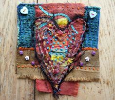 Heart dooleybobber gifted to Mary by Jan Brattain