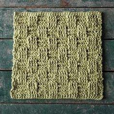 52 Weeks of Dishcloths #23 - Picnic Basket Dishcloth - KnitPicks Staff Knitting Blog