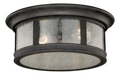 View the Vaxcel Lighting T0155 Hanover 2 Light Flush Mount Outdoor Ceiling Fixture at LightingDirect.com.