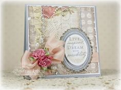 Vintage Inspired by AndreaEwen - Cards and Paper Crafts at Splitcoaststampers