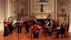 The second movement, Aria, from Bach's orchestral suite in D Major, BWV 1068, performed on original instruments from the time of Bach by the Early Music ensemble Voices of Music.