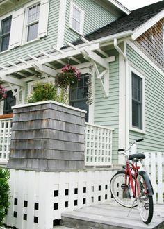 Seabrook, WA exterior home with cedar shake