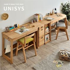 Study Table Designs, Study Room Design, Study Room Decor, Kids Room Furniture, Smart Furniture, Home Study Rooms, Kids Study Desk, Floor Desk, Cute Home Decor