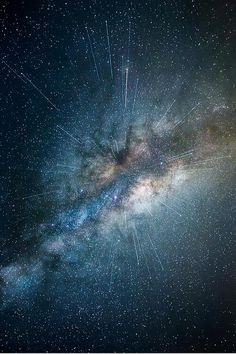 Star light, star bright, the cosmos becomes alive