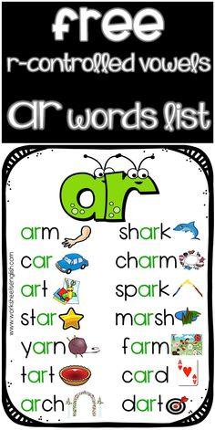 Phonics Rules, Teaching Phonics, Phonics Worksheets, Teaching Reading, Jolly Phonics, Learning, First Grade Activities, Teaching First Grade, Er Words