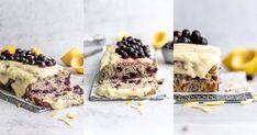 Keto Lemon Poppy Seed Cake with Blueberries - Simple Keto Cake Confectioners Sugar Icing, Lemon Juice Uses, Poppy Seed Chicken, Poppy Seed Cake, Keto Fruit, Low Carb Cheesecake, Keto Cake, Blueberry Recipes, Pound Cake Recipes