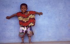 Cute little boy from Guinea-Bissau, located in West Africa. (Senegal is to the north)