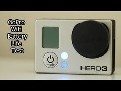 Tip #123 GoPro - Test Wi-Fi Battery Life - Standby Mode