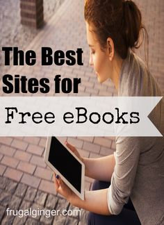 The Best Sites for Free eBooks Check out these 7 sites where you can get thousands of eBooks for FREE! The Best Sites for Free eBooks Free Epub Books, Free Books Online, Books To Read Online, Free Kindle Books, Free Ebooks, New Books, Good Books, Free Audio Books, Ebooks Online