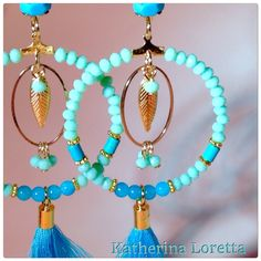 Earrings turquoise❤️