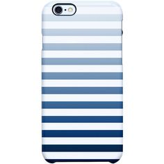 Uncommon Its Simple Stripe iPhone 6 TS Deflector Case ($29) ❤ liked on Polyvore featuring accessories and tech accessories