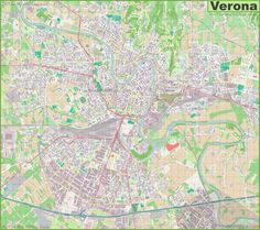 Large detailed map of Palermo | Interesting Maps of Italy ...