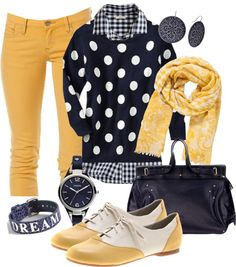 """""""Add Some Sunshine to Your Day"""" - I want mustard pants 60 Fashion, Fashion Corner, Cute Fashion, Winter Fashion, Fashion Outfits, Fashion Addict, Fashion Ideas, Fall Outfits, Casual Outfits"""