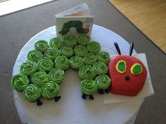 Storybook baby shower. The Hungry Caterpillar