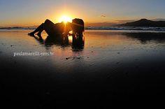 fotos de grávidas na praia