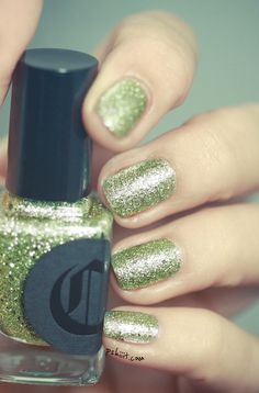 Hellebore by Cirque glitter nail polish
