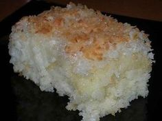 coconut cake quick desserts recipes easy and quick dessert recipes Slovak Recipes, Russian Recipes, Czech Desserts, Easy Desserts, Cake Recipes, Dessert Recipes, Quick Dessert, Dinner Dessert, Good Food