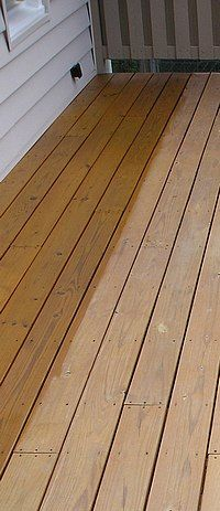 The project for the next sunny weekend. Choosing a Sealant for the Deck.
