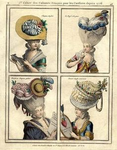 rococo headwear | Rococo hats