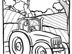 Les 7 Meilleures Images De Coloriage Tracteur Coloriage