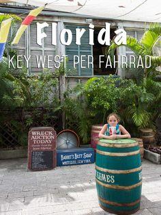 Mit dem Fahrrad durch Key West ging es auf unserer fünften und letzten Etappe unserer Florida Rundreise. Auf coolen Beachcruisern haben wir die schönsten Ecken in Key West erkundet. Das tolle daran ist, man kann jederzeit und überall schnell mal anhalten.