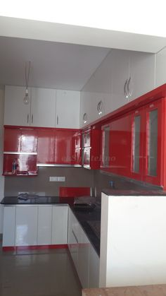 #Modular Kitchen@Sobha Marvella, Bangalore
