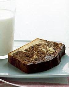 Chocolate Marble Bread with Ganach