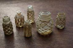 обвязанные бутыли