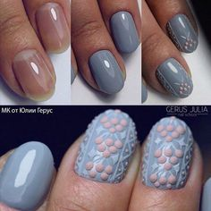 флористика на ногтях гель лак - Поиск в Google