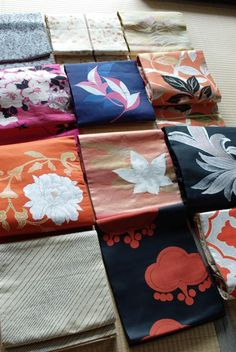 着物、帯/Japanese Obi sash for kimono