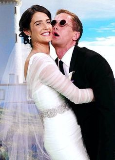 Barney and Robin- how i met your mother #himym Weekend at Barney's