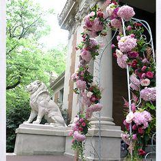 Flora NY - Wedding at Bronx Zoo    #LombardyHotel #NYC #Wedding