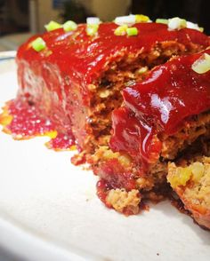 Meatloaf with Bourbon Barbeque Glaze