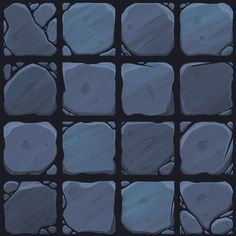 Texture Drawing, 3d Texture, Texture Painting, Tiles Texture, Stone Texture, Tiles Game, Dungeon Tiles, Game Textures, Hand Painted Textures