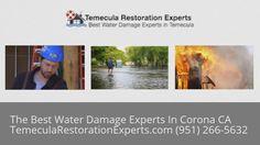 Emergency Water Damage Service Corona CA (951) 266-5632 https://www.youtube.com/watch?v=eKzoW6uxScU