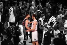 Hemos vivido muchos, pero este no lo ovidaremos nunca.  Gracias por todo.   #dormiresdecobardes  Marc Gasol  Pau Gasol All Stars Game NBA 2015