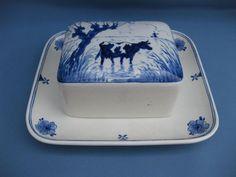 Online veilinghuis Catawiki: Porceleyne Fles - zeldzame botervloot met koe