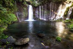 Shiraito Falls #japan #shizuoka